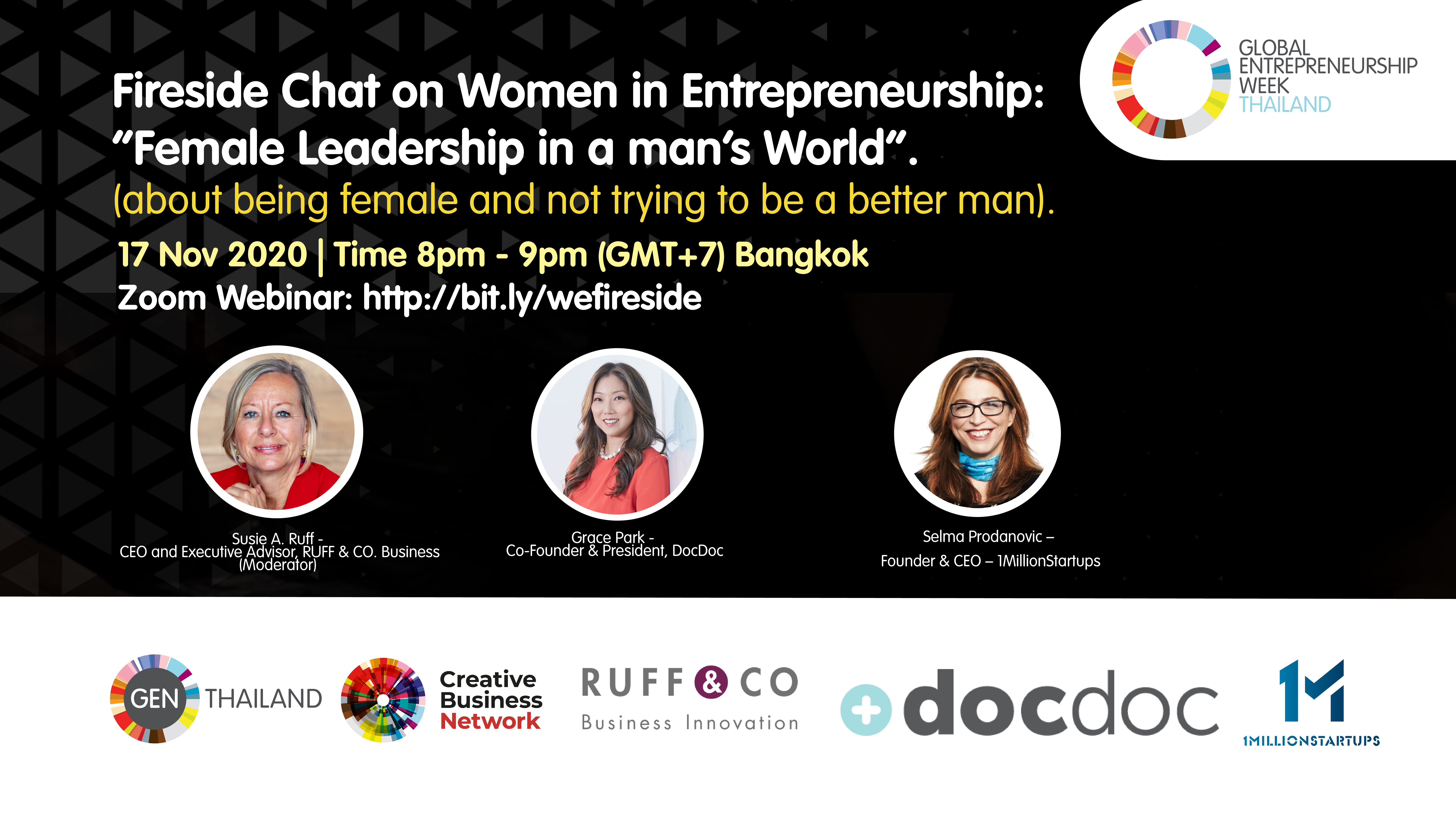 Fireside Chat on Women in Entrepreneurship