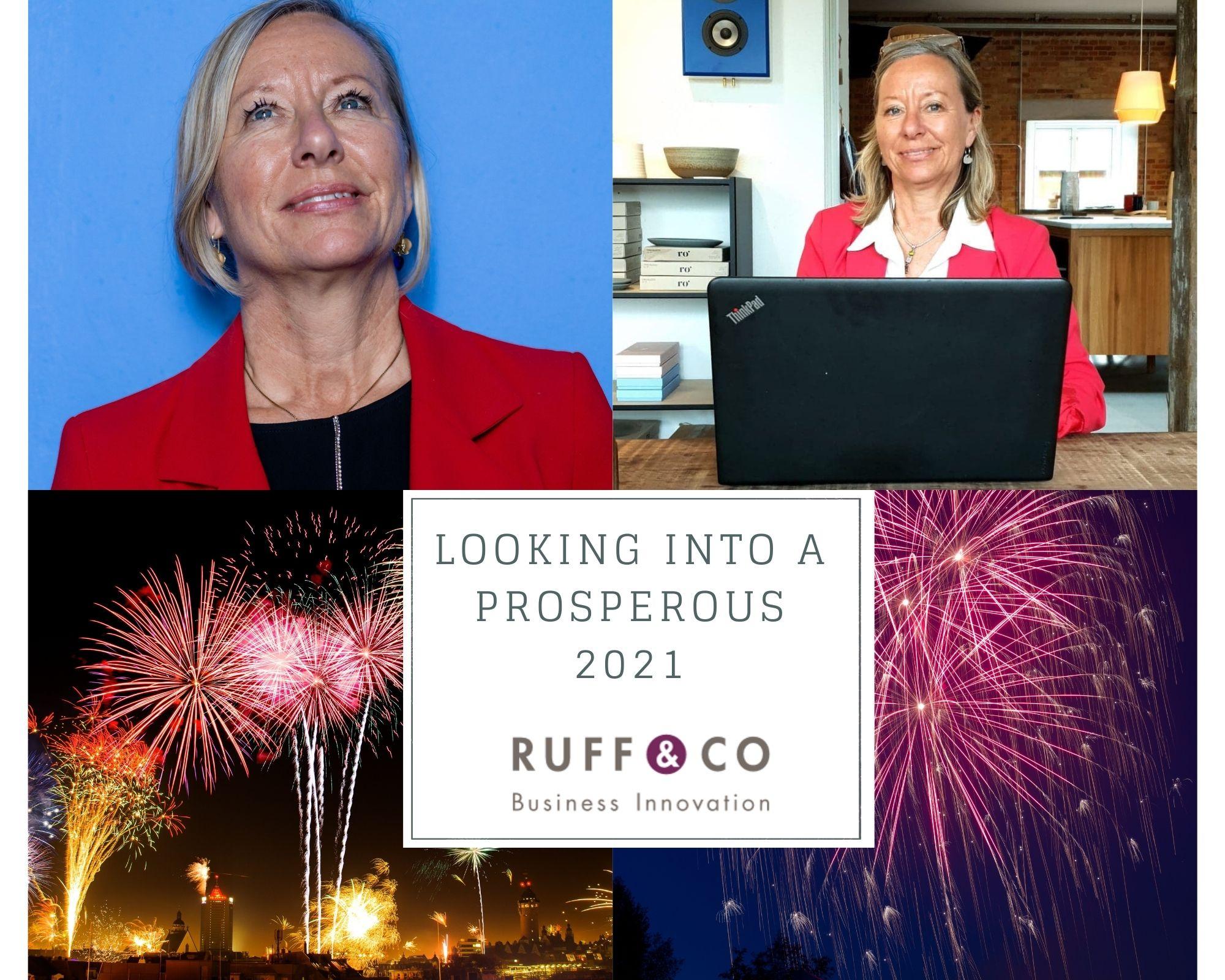 New Years greeting RUFF CO 2020