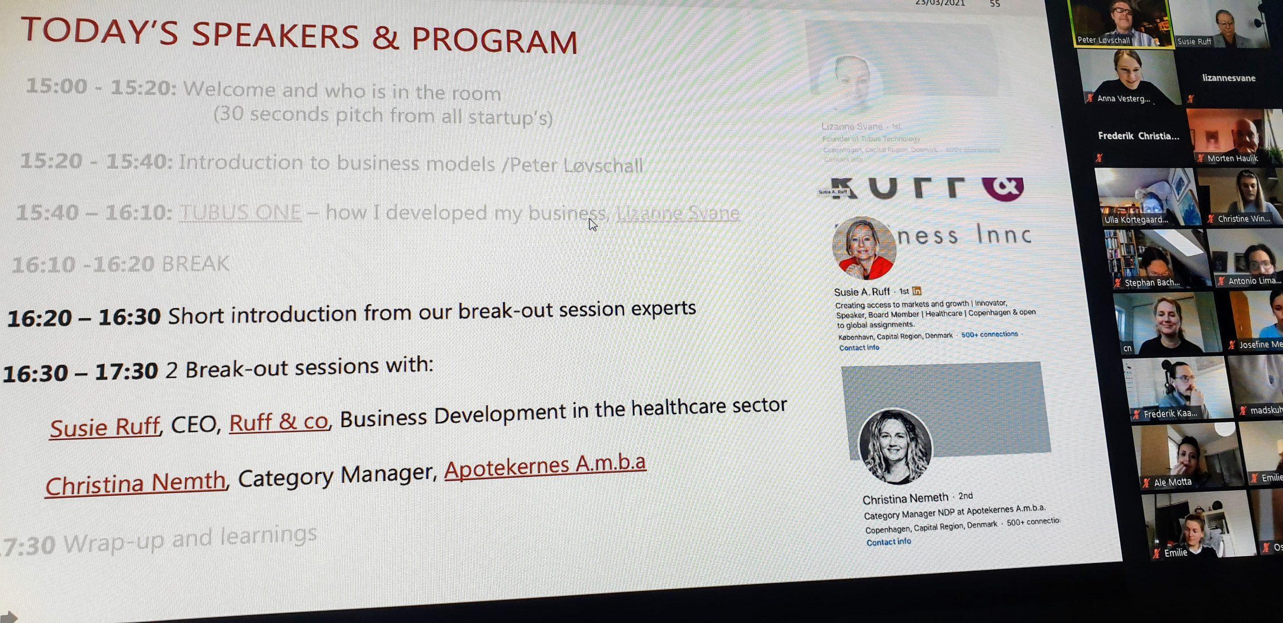 Supporting student-startups at University of Copenhagen & Copenhagen Health Incubator